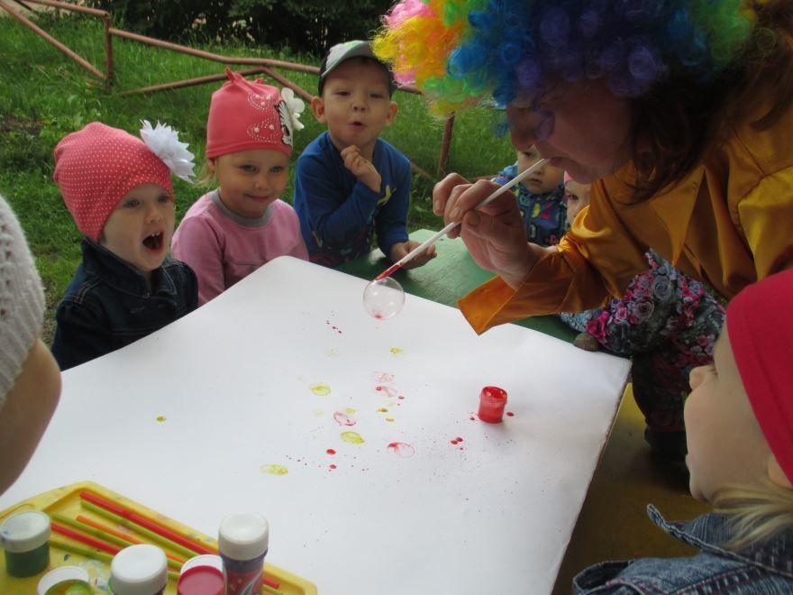 Летние праздники в детском саду