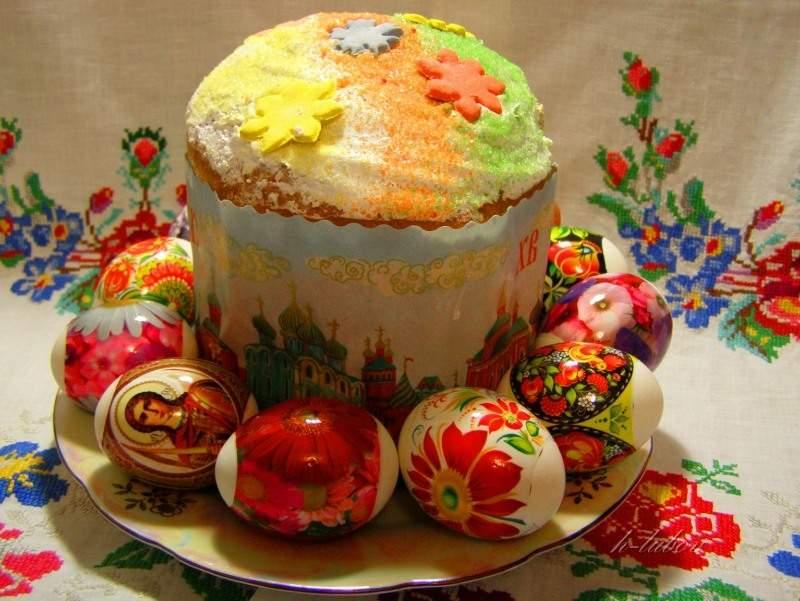 Православный весенний праздник - Пасха