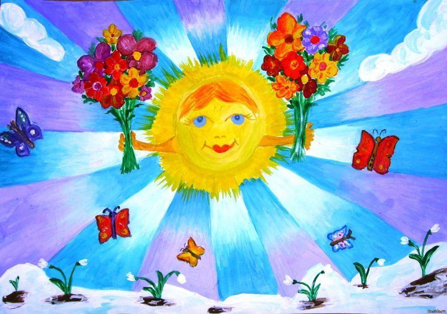 Праздник весны для детей