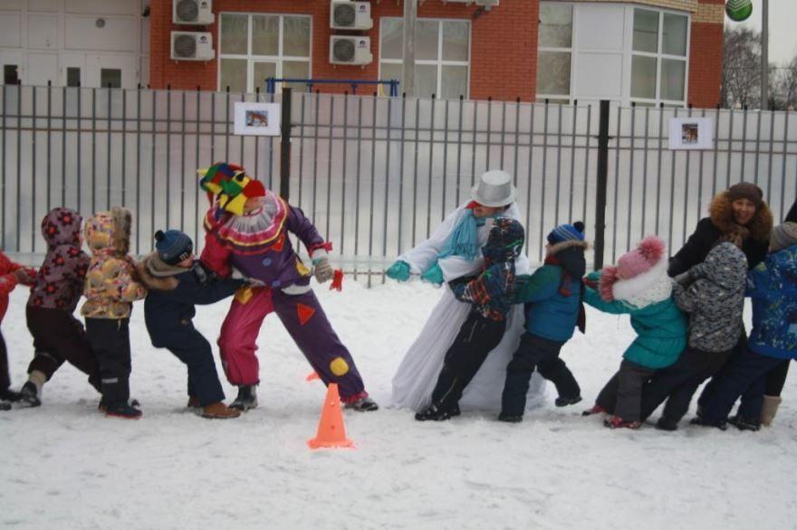 Спортиный праздник, зима