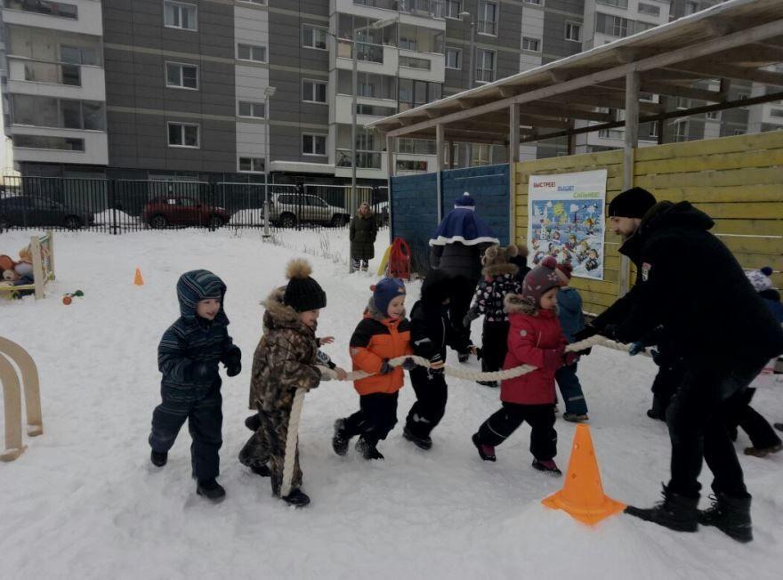 Спортиное мероприятие для детей