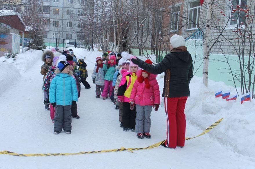 Детский зимний спорт