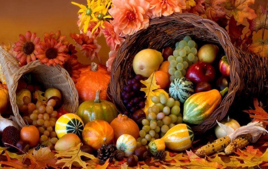 Осенние праздники в картинках