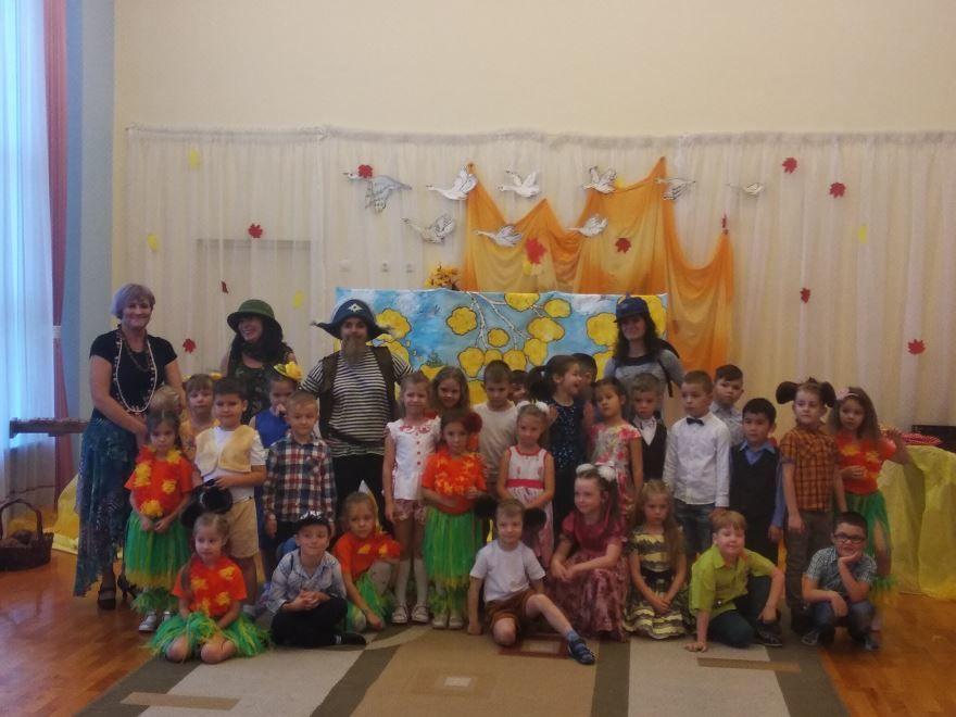 Осенние праздники старшей группы детского сада