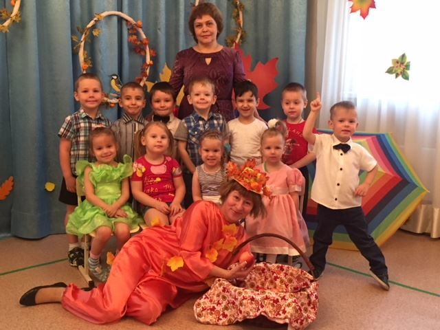 Современный осенний праздник в детском саду