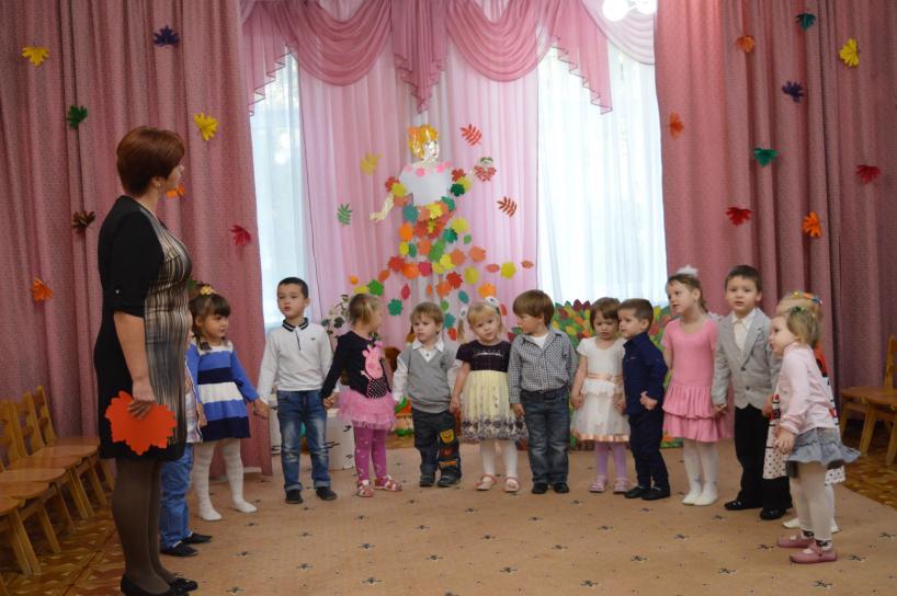 Детские осенние праздники в детском саду фотография