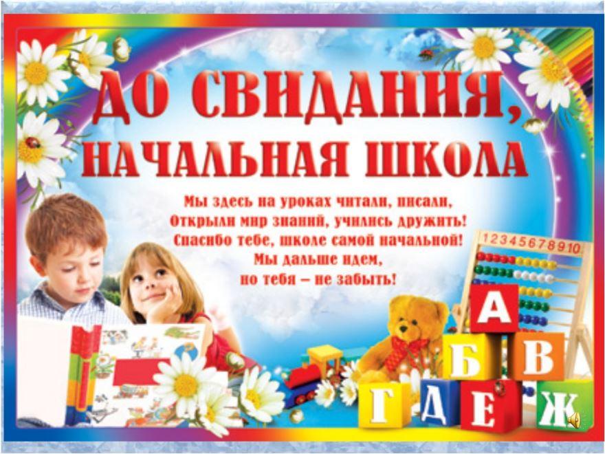 Открытки начальная школа