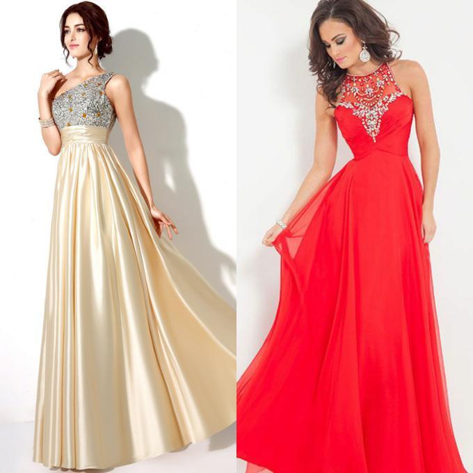 Клевые выпускные платья