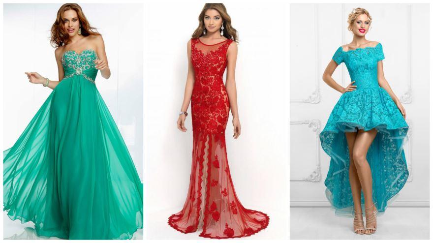 Классные идеи для платьев на выпускной