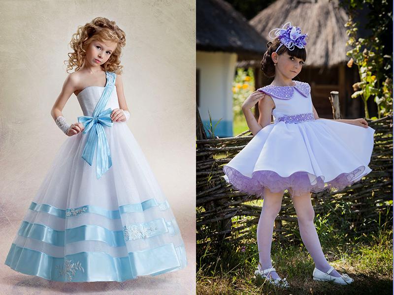 Платья для девочек 4 класса