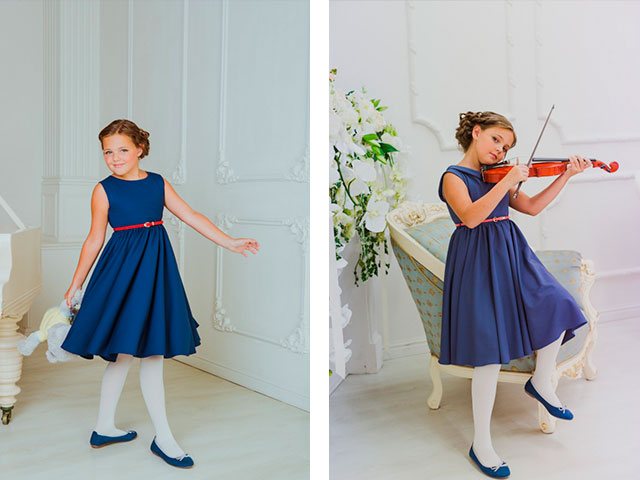 Платье девочке 4 класс 2019 год