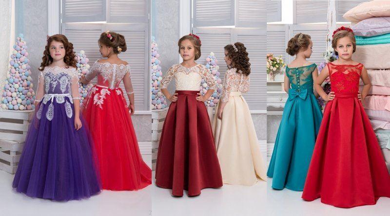 Платья для девочек 4 класса на выпускной