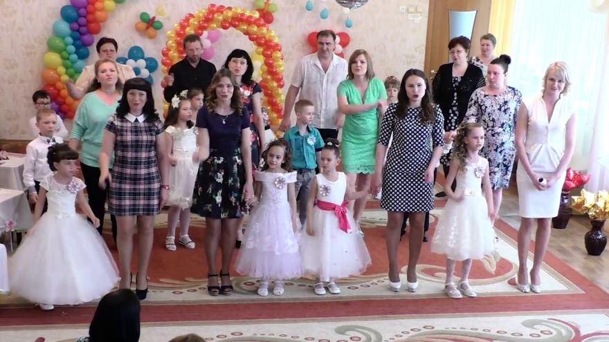 Детский сад, выпускной, родители