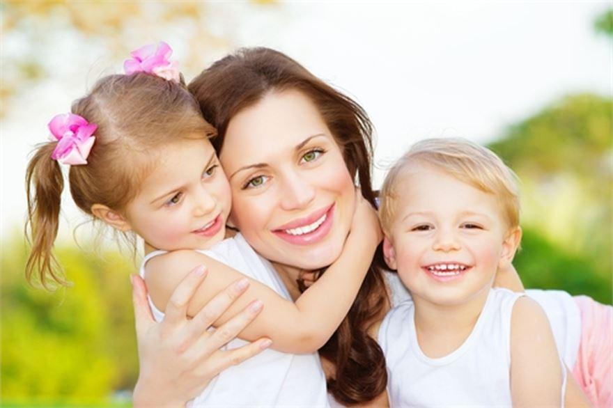 День матери - идея для фото