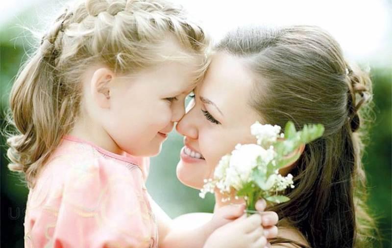 Идея для фотосессии на день матери