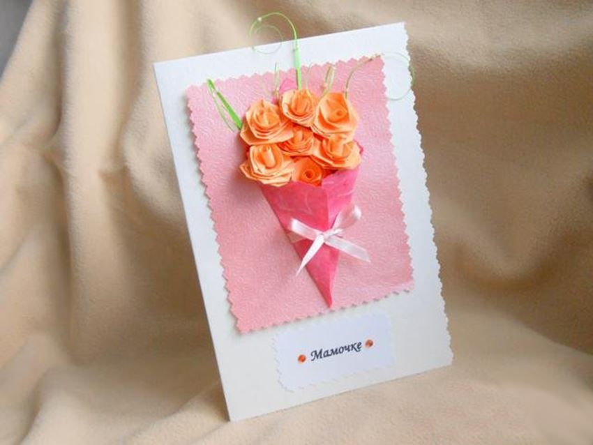 Интересные открытки своими руками маме на день рождения