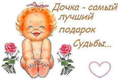 Поздравление маме с днем рождения дочери