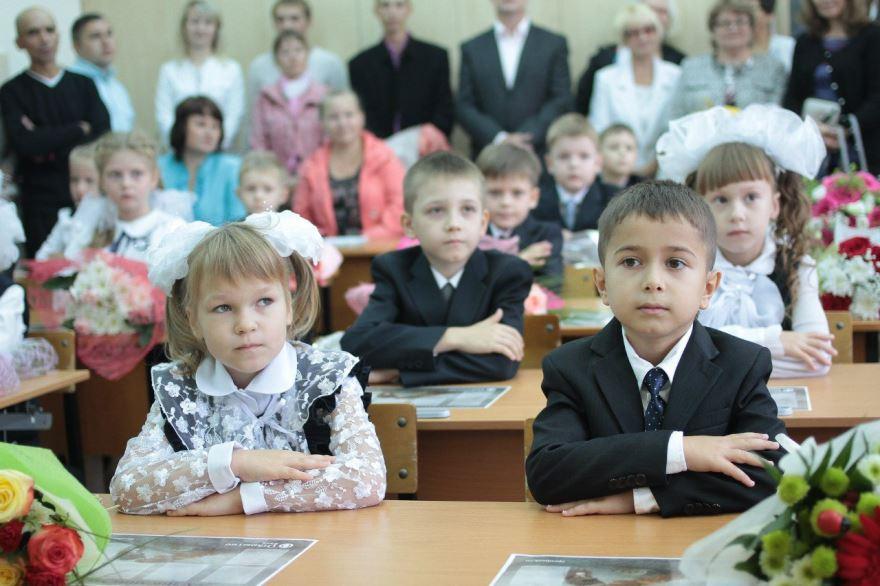 Урок в школе, фото