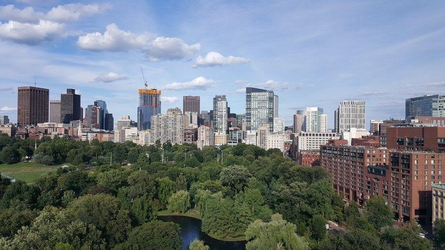 Бостон 2019 город штат Массачусетс США фото скачать бесплатно  онлайн в хорошем качестве