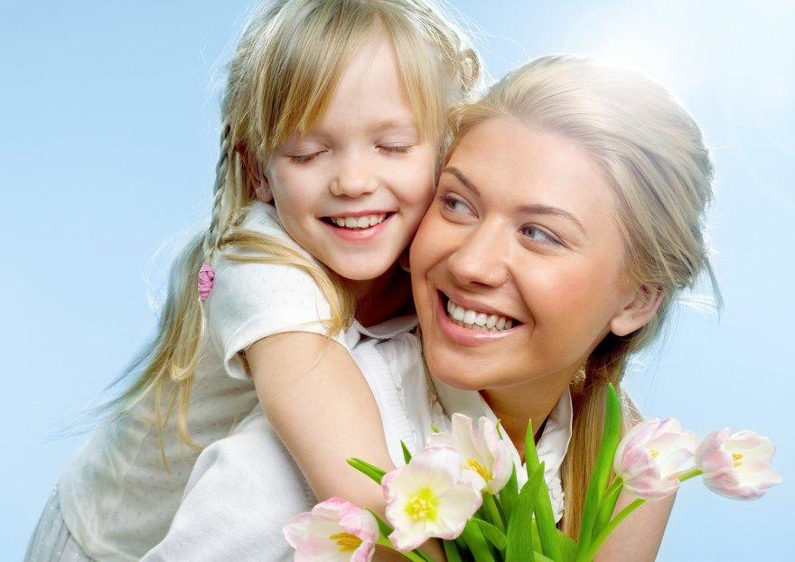 Мать и дочь картинки для детей, ночи