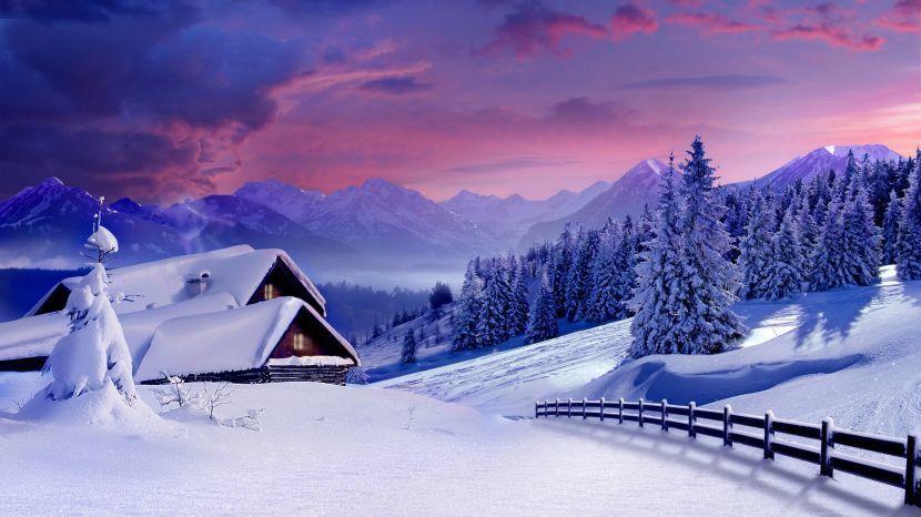 Доброго зимнего дня - картинки, открытки, пожелания. Отличные картинки для создания прекрасного настроения у собеседника.