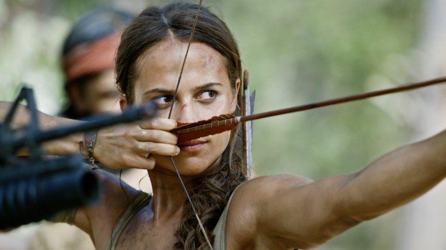 Tomb Raider Лара Крофт смотреть скачать бесплатно онлайн торрент 1080 hd