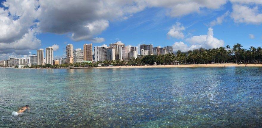 Гонолулу 2019 город Гавайи США фото скачать бесплатно  онлайн в хорошем качестве