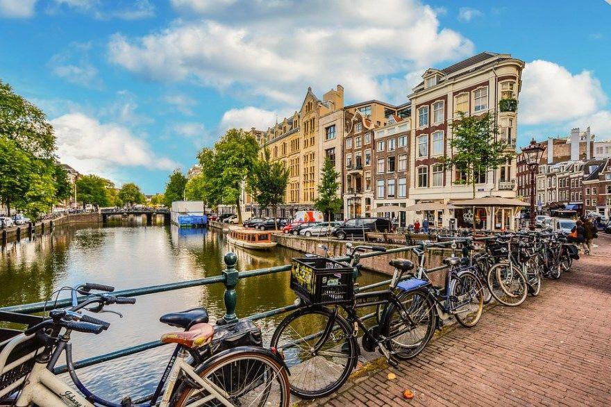 Амстердам 2019 город фото Нидерланды скачать бесплатно  онлайн в хорошем качестве