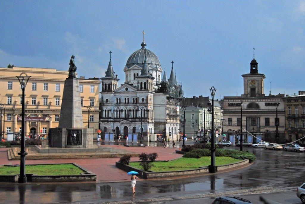 Лодзь 2019 город Польша фото скачать бесплатно  онлайн в хорошем качестве