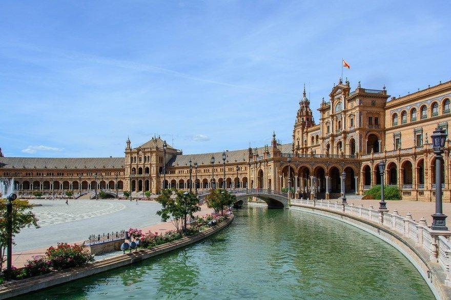Севилья 2018 город Испания фото скачать бесплатно  онлайн в хорошем качестве