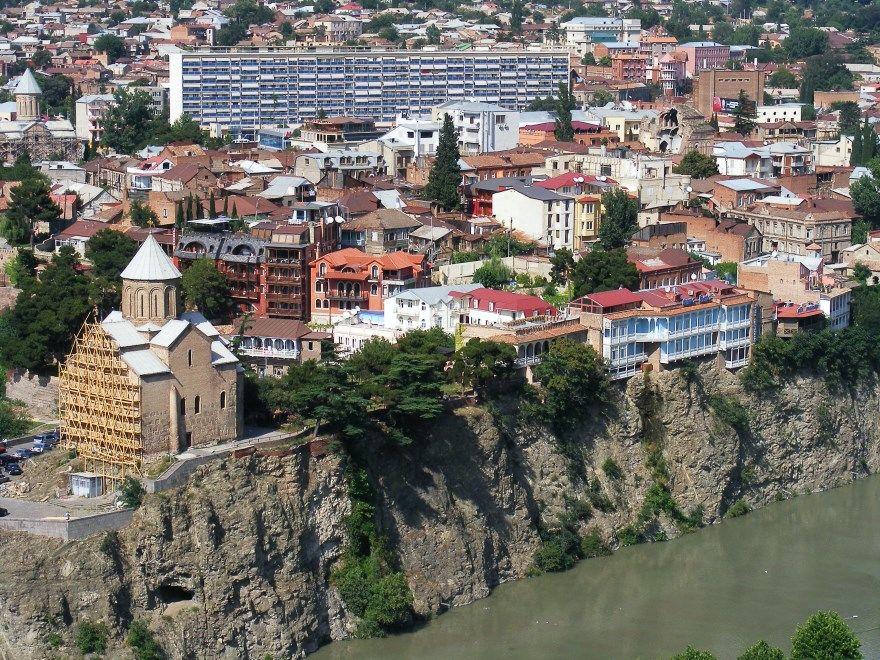 Тбилиси 2018 город Грузия фото скачать бесплатно  онлайн в хорошем качестве