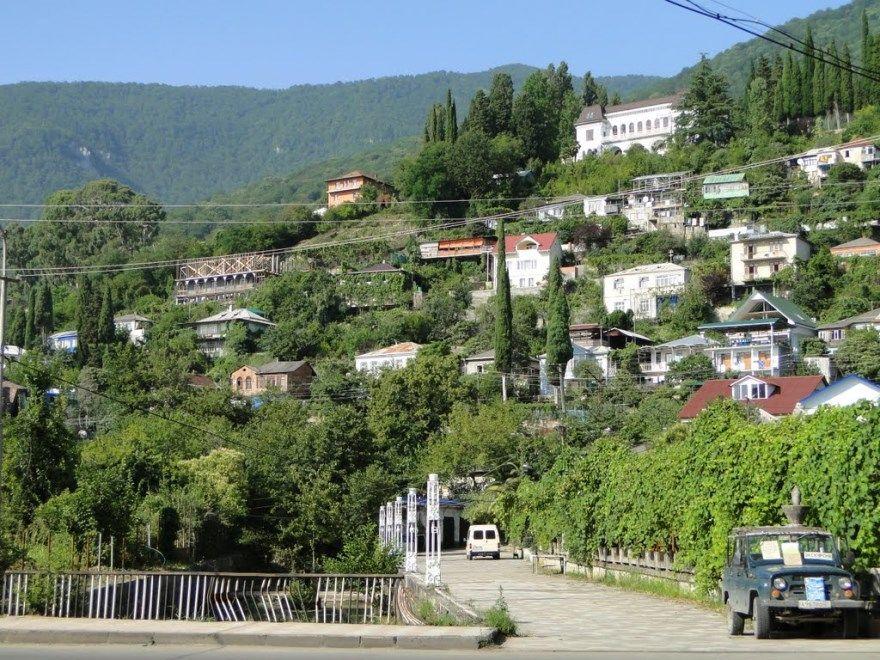 Города Абхазии провинции самые крупные фото красивые