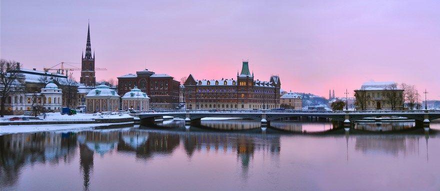 Города Швеции провинции самые крупные фото красивые