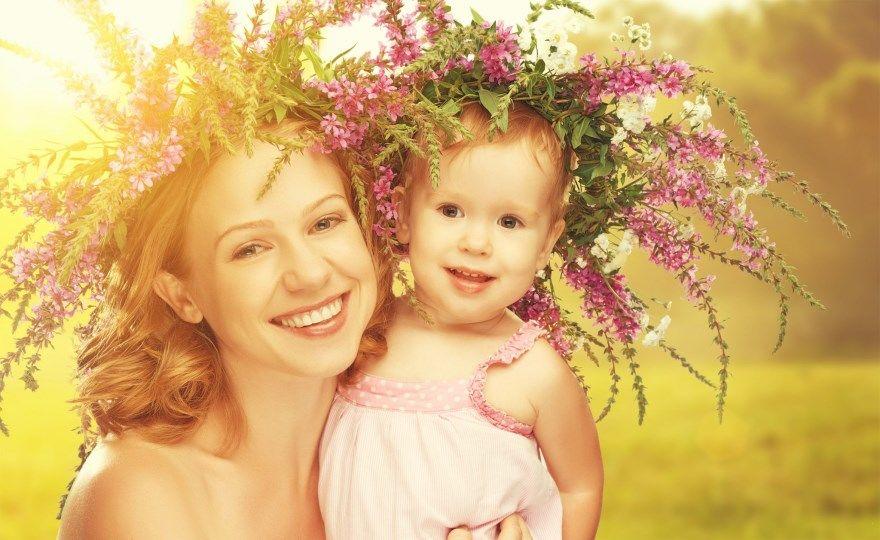 Идеи красивого фото маме с днем матери