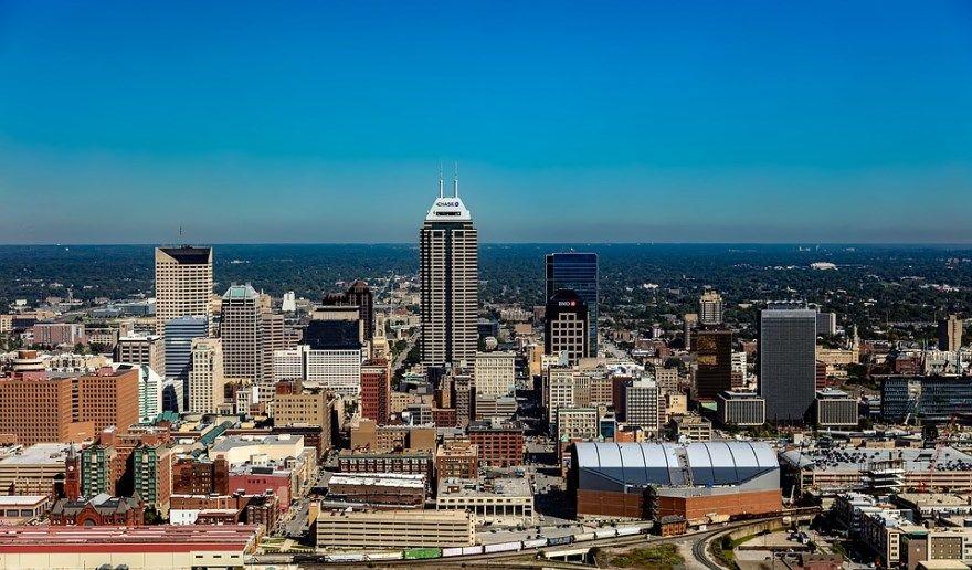 Индианаполис 2019 город штат Индиана США фото скачать бесплатно  онлайн в хорошем качестве