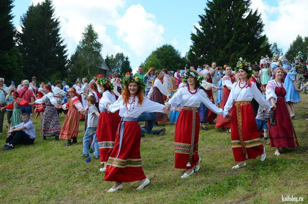 Летние календарные праздники обрядовые обряды