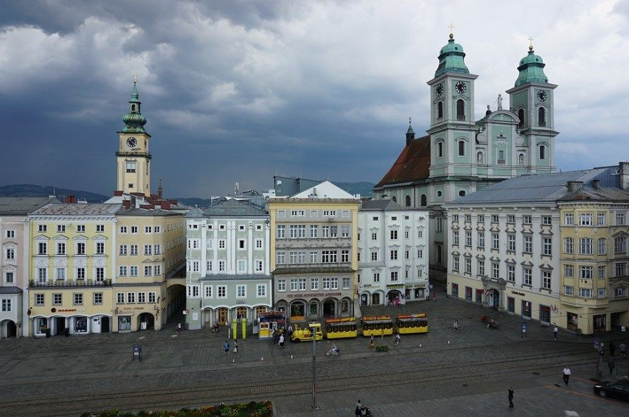 Линц 2018 город фото Австрия скачать бесплатно  онлайн в хорошем качестве