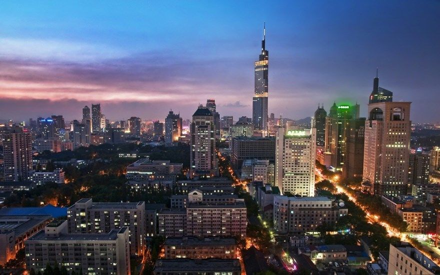 Нанкин 2019 Китай город фото скачать бесплатно онлайн