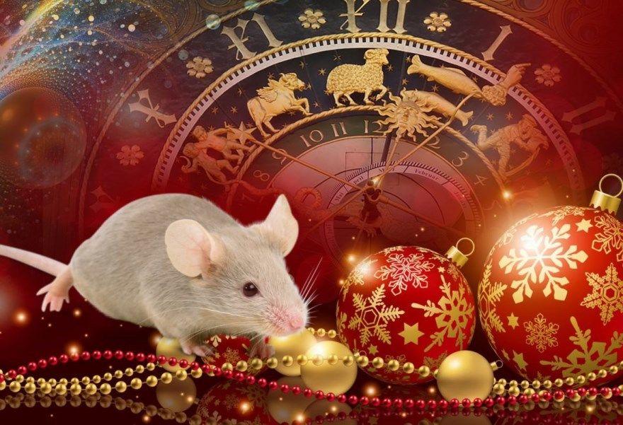 Мышки Новый год из бумаги своими руками