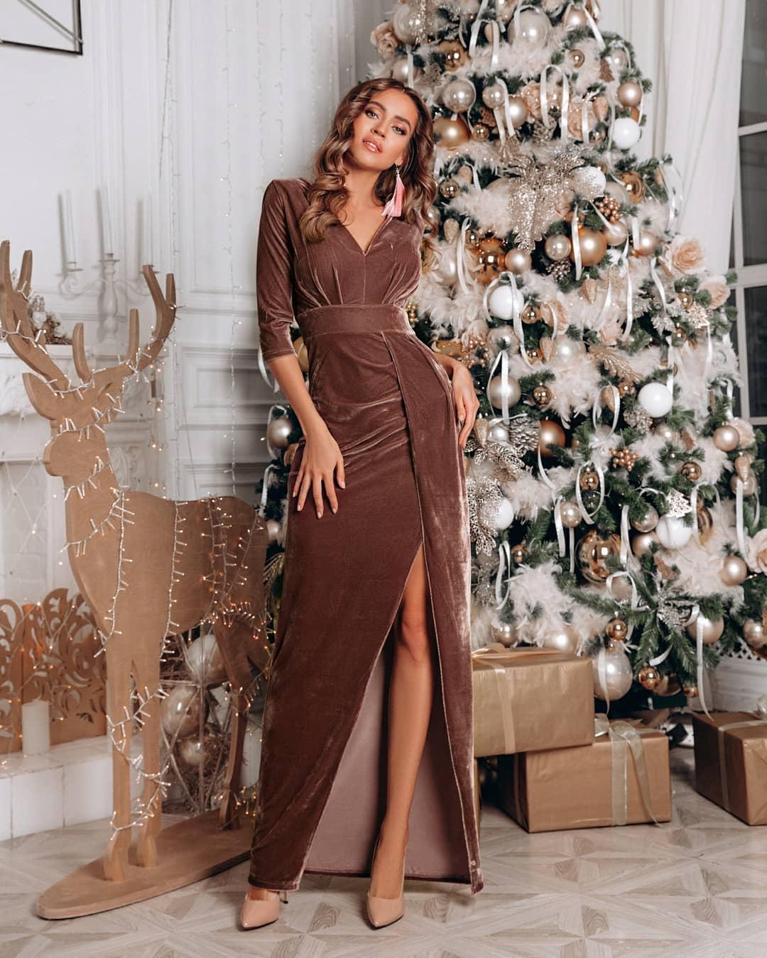 Платье Новый год красивое модное фото девочки
