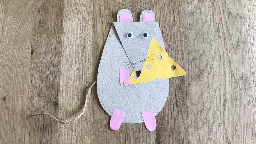 Поделка Новый год мышь крыса садик школу