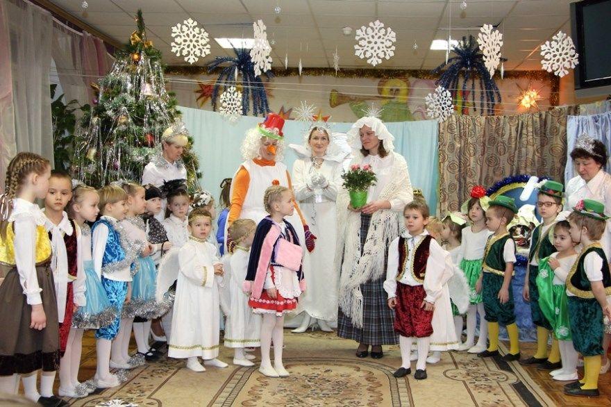 Детское Рождество детском саду песни стихи поделки