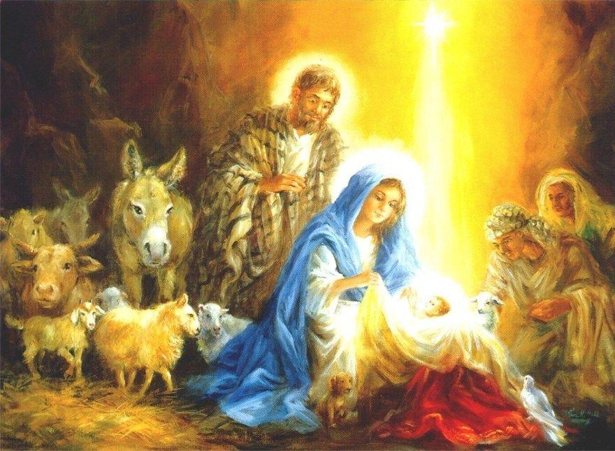 Картинки Рождество Христово для детей скачать бесплатно