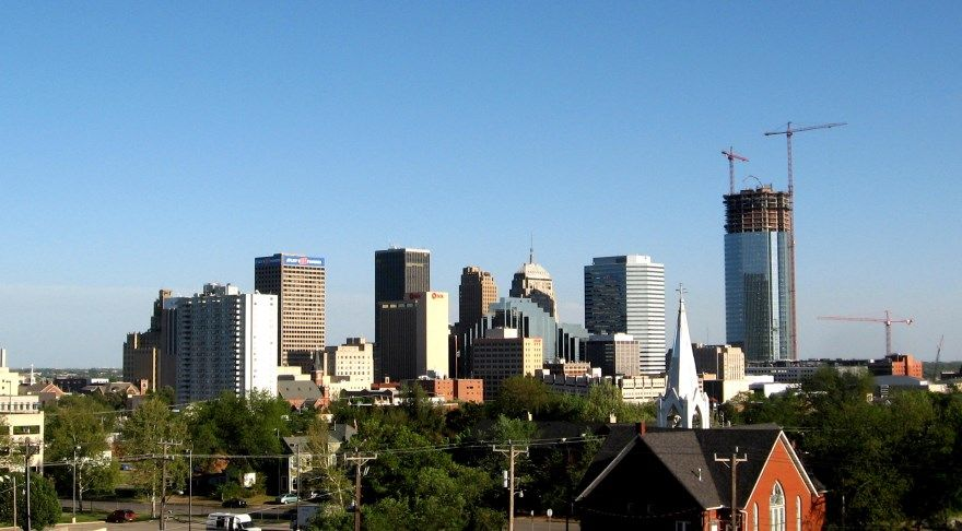 Оклахома Сити 2019 город штат Оклахома США фото скачать бесплатно  онлайн в хорошем качестве