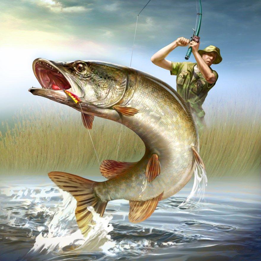 Открытки днем рыбака скачать бесплатно прикольные