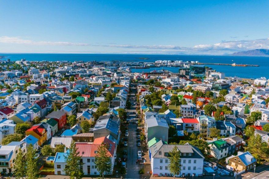Рейкьявик Исландия 2019 город фото скачать бесплатно онлайн