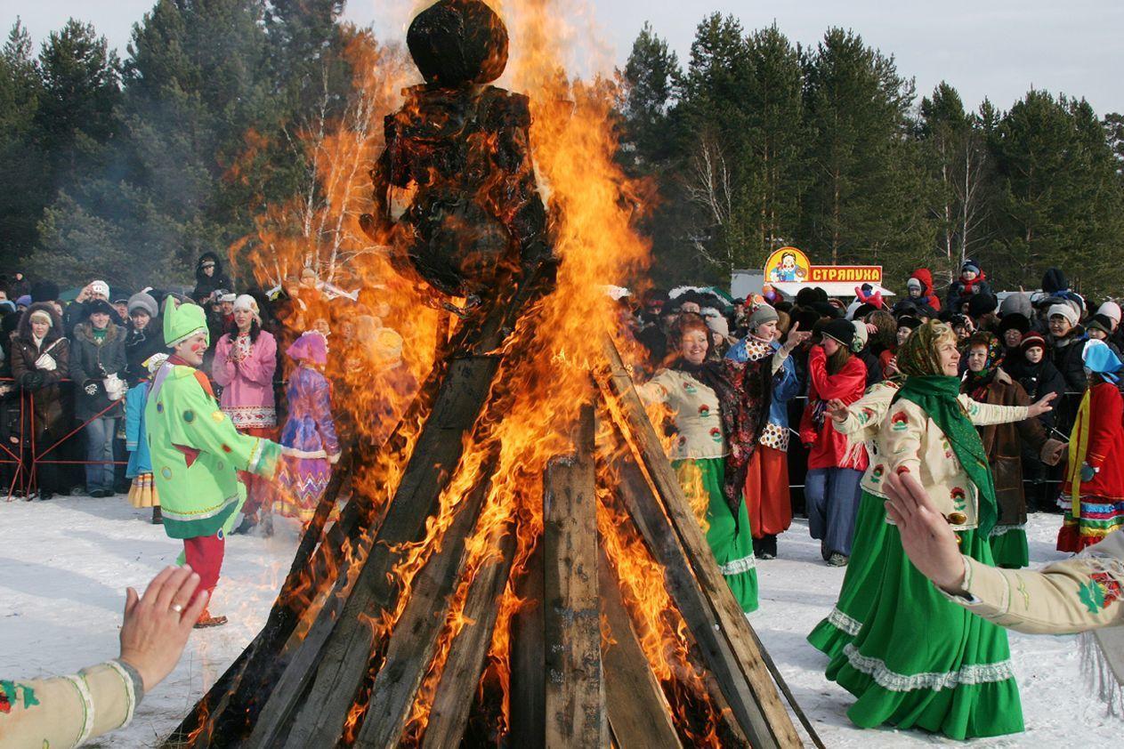 Русские праздники в картинках фото гуляний