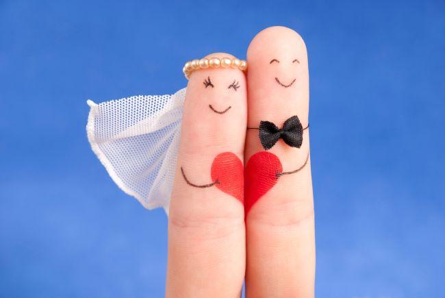 Фото со свадьбой