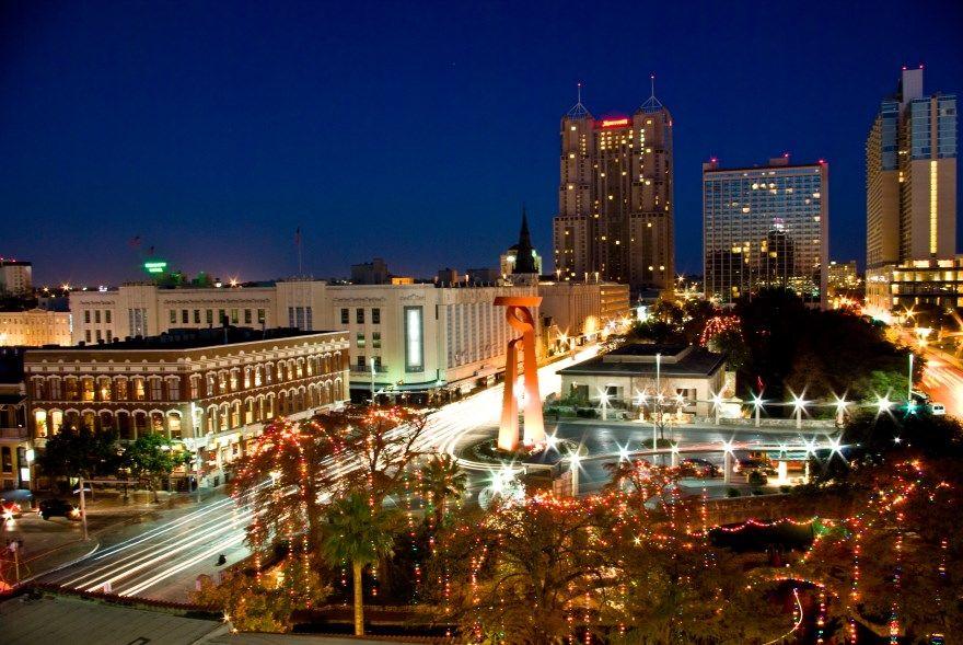 Сан Антонио штат Техас США 2019 город фото скачать бесплатно  онлайн в хорошем качестве
