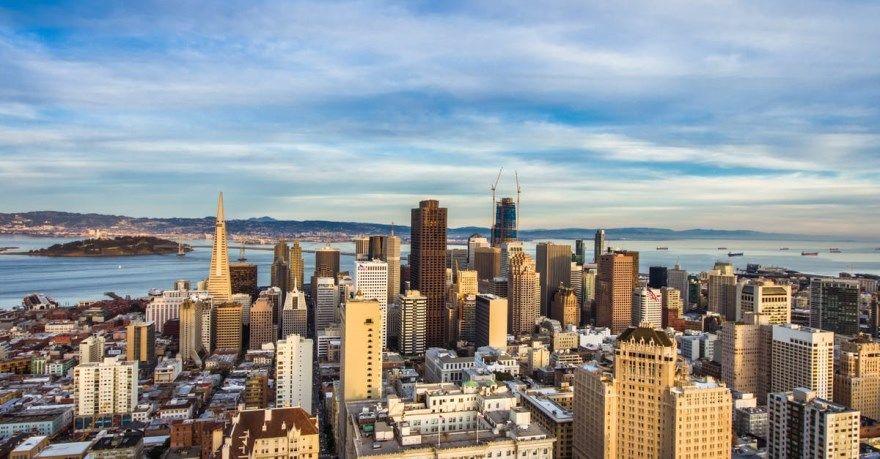 Сан Франциско 2019 город штат Калифорния США фото скачать бесплатно  онлайн в хорошем качестве
